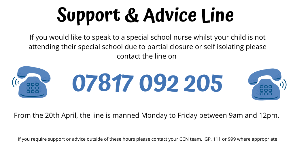 Special School Support Line